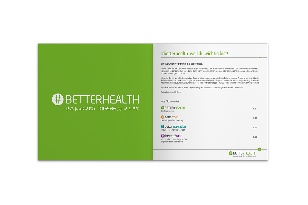 #betterhealth Referenz Buch