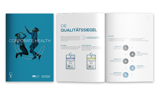 Corporate Health Initiative Referenz Broschüre