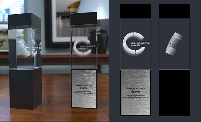 Energiewende Award Referenz Pokal