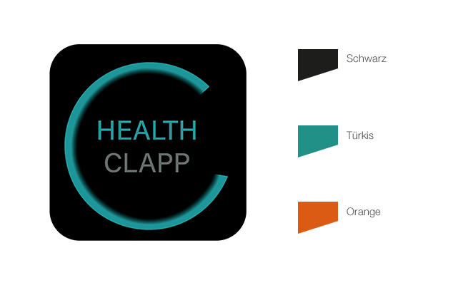 Healthclapp Referenz Corporate Design